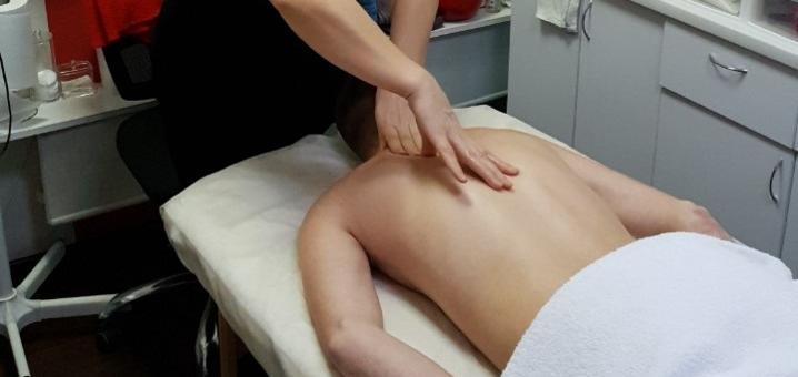 Сеанс массажа спины или шейно-воротниковой зоны от массажиста Нины Костюк