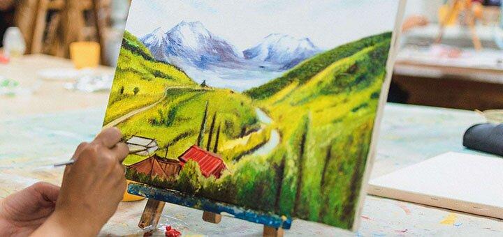 Мастер-класс «Масляная живопись» в арт-центре «Я 2.0»