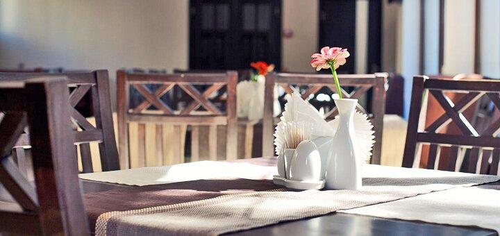 От 3 дней отдыха с трехразовым питанием в отеле «Згадка» в сердце Трускавца
