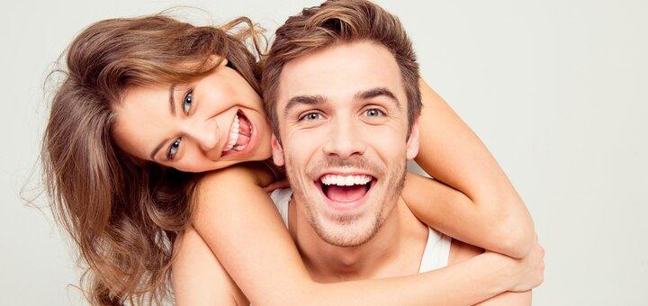 Скидка до 73% на ультразвуковую чистку и Air Flow в стоматологии «Статус»
