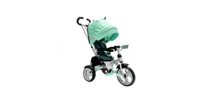 Скидка 34% на детский трехколесный велосипед-коляска crosser T-503 EVA