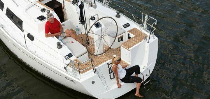 Скидка 22% на прогулку на яхте VIP-класса «Hanse 325» и мастер-класс от «Парусной академии»