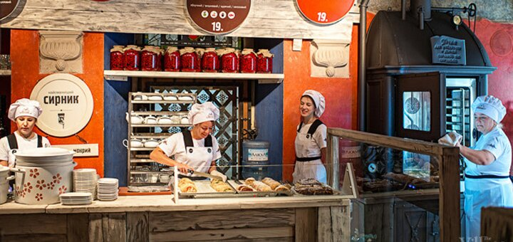 Знижка 30% на страви у пекарні «Львівські Пляцки» на Спаській або на Хмельницького