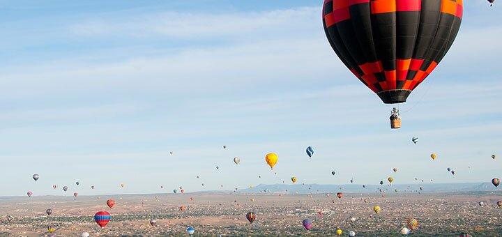 Скидка до 32% на полет на воздушном шаре от компании «Небо для тебе»