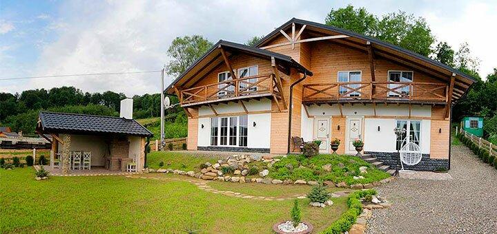 От 3 дней летнего отдыха для компании в коттедже «SPA HOUSE» в Карпатах