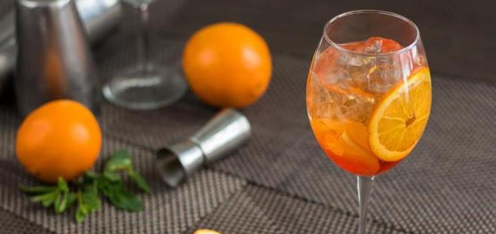 3 коктейля «Aperol Spritz» в итальянском ресторане «Примавера»
