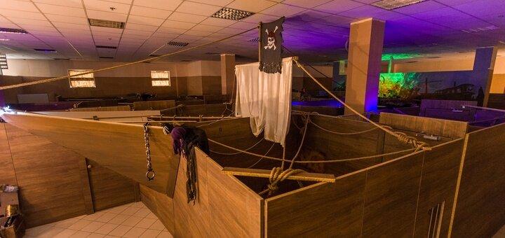 Участие в двухчасовой квест-игре «Корабль-призрак» для 4 детей