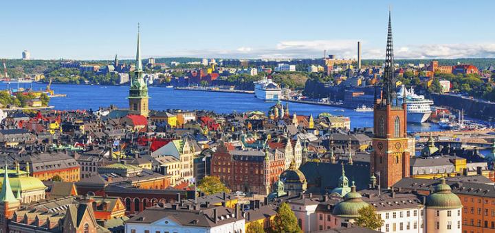Скидка 40% на морской круиз в Стокгольм и Вильнюс, Рига, Юрмала