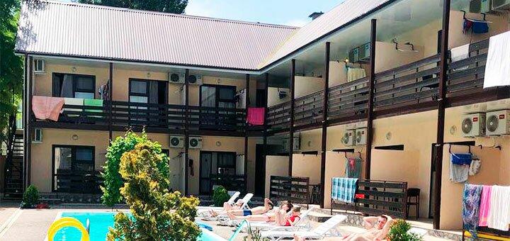 От 3 дней отдыха в бархатный сезон в отеле с бассейном «Villa Maria» в Кирилловке