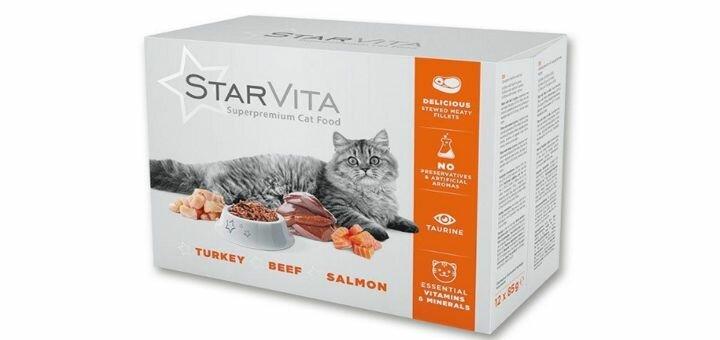 Скидка 10% на премиум-корм Starvita для собак и кошек от «Allzora.com.ua»