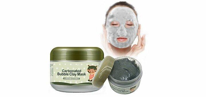 Скидка 20% на кислородную маску «Bioaqua Carbonated Bubble Clay Mask»