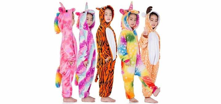 Скидка 10% на детские пижамы-костюмы «Кигуруми» от «Красота в мелочах»