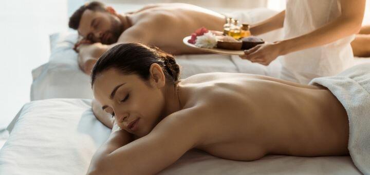 Релакс массаж «Райское наслаждение» на кокосовом масле в студии массажа «Calma Dentro»