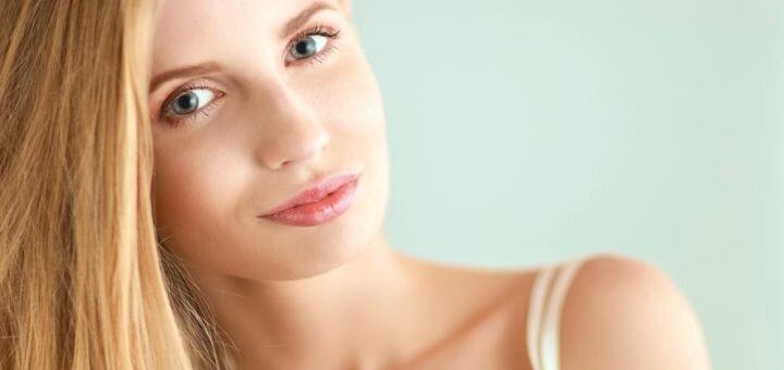 Комплексная чистка лица с пилингом по типу кожи от косметолога Елены Мищенко