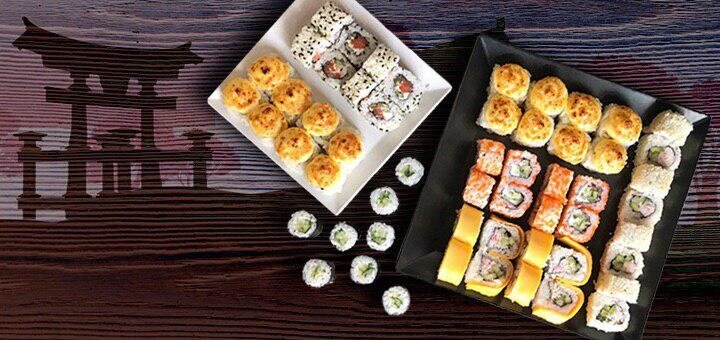 Скидка 50% на суши-сет «Якудза» от сети доставки еды «Суши-мастер»