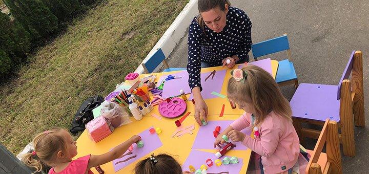 Абонемент на посещение частного детского садика «Momsangels»