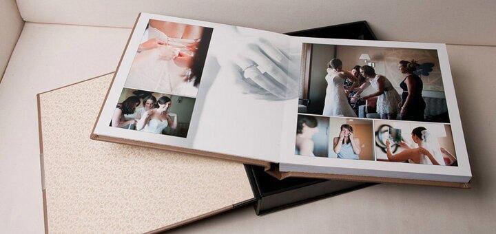Печать фотокниги «SlimBook» на фотобумаге разного формата в студии «Фотокнига+»