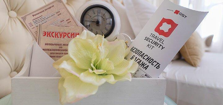 От 2 дней отдыха с завтраками в отеле «Sinfonia del Mare» в Одессе