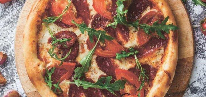 Скидка 50% на все меню пиццы в кафе «Double cheese»