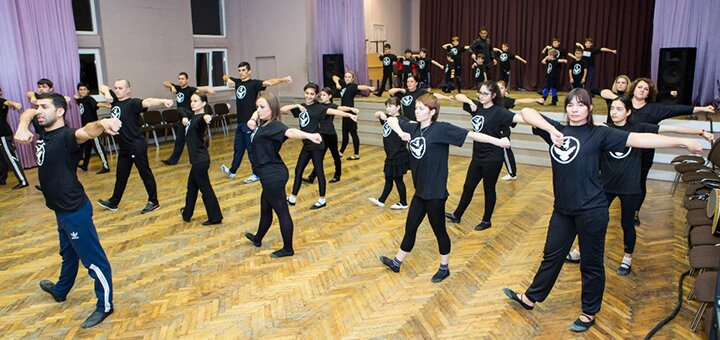 До 16 занятий кавказскими танцами в Школе кавказских танцев