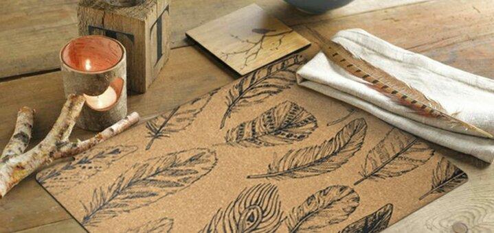 Скидка 30% на сервировочные коврики от «Мой дом»