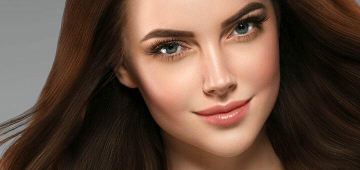 Пудровые брови с коррекцией от мастера перманентного макияжа Валентины Бовиновой
