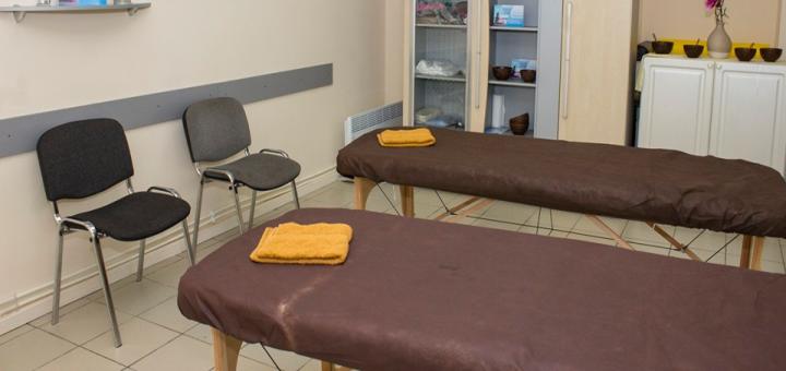 SPA-программа в кабинете массажных SPA-процедур