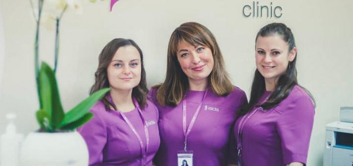 Скидка 20% на специальные предложения в клинике «ISIDA» от гинеколога Валерии Даценко