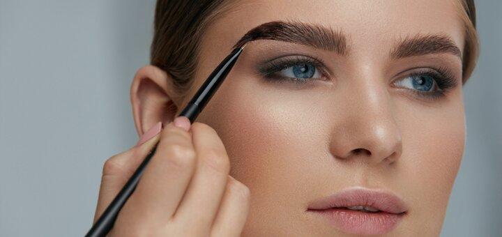 Коррекция и окрашивание бровей от врача-косметолога Дианы Чубатой