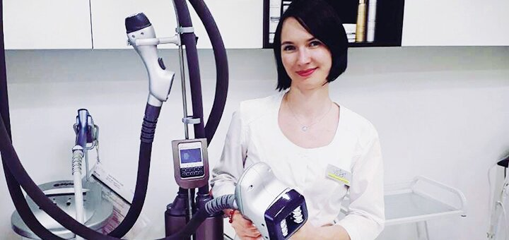 Комбинированная чистка лица с массажем или пилингом от косметолога Олеси Ковшовой