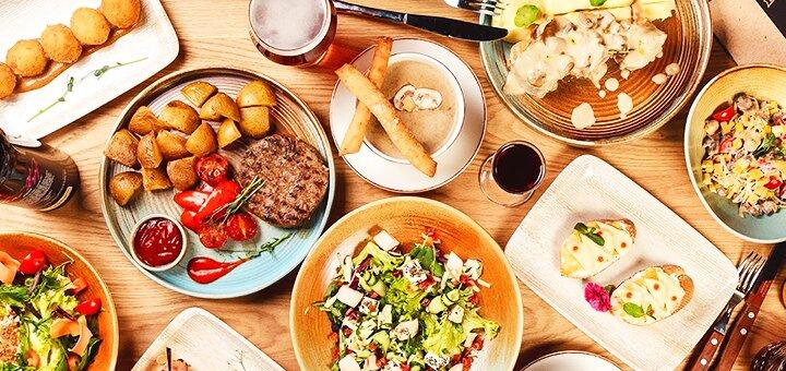 Знижка 40% на все меню кухні від «Бар Boss»