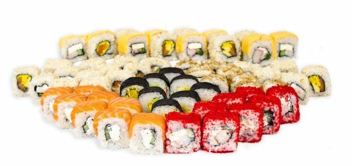 Скидка 50% на суши-сеты «Килограмм» или «Уик-энд» от службы доставки «Sensei sushi»