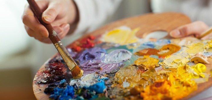 """Занятия по мастер-классу «Живопись маслом» в студии художественного творчества """"7 Чудес""""!"""